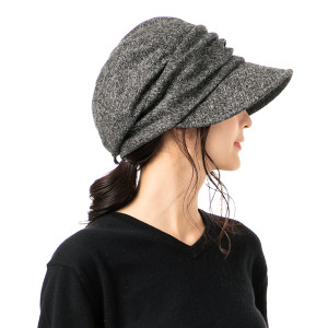 帽子 レディース 大きいサイズ  AWシャイニングキャスケット  キャスケット 秋 冬  防寒対策に SALE セール QUEENHEAD PayPayモール店