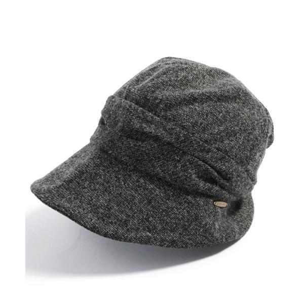 帽子 レディース 大きいサイズ キャスケット AWミラクルキャスダウンHAT  ハット 秋 冬 小顔効果 防寒対策に|queenhead|20