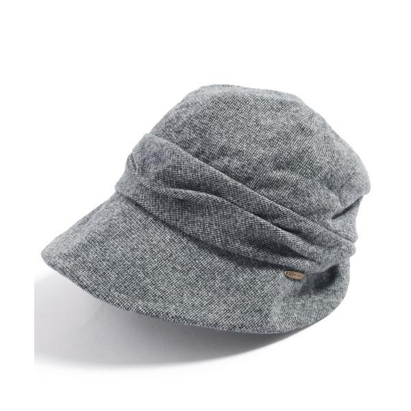 帽子 レディース 大きいサイズ キャスケット AWミラクルキャスダウンHAT  ハット 秋 冬 小顔効果 防寒対策に|queenhead|22