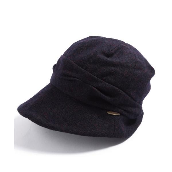 帽子 レディース 大きいサイズ キャスケット AWミラクルキャスダウンHAT  ハット 秋 冬 小顔効果 防寒対策に|queenhead|26