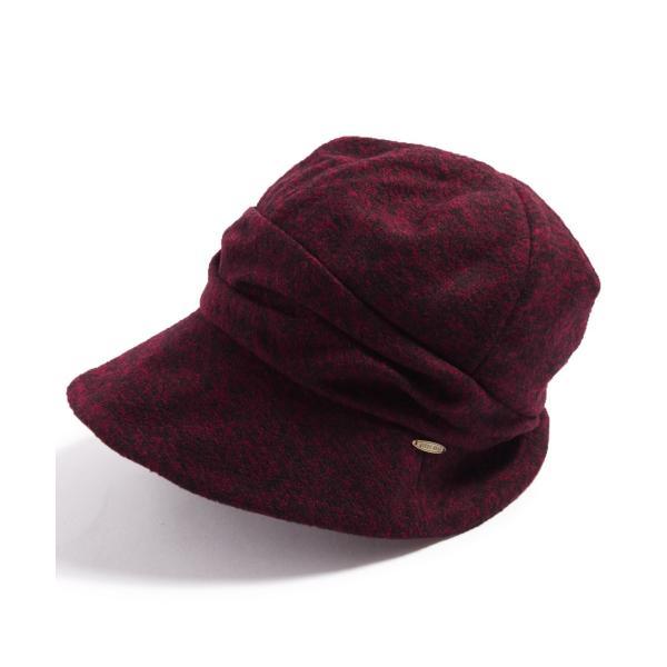 帽子 レディース 大きいサイズ キャスケット AWミラクルキャスダウンHAT  ハット 秋 冬 小顔効果 防寒対策に|queenhead|27
