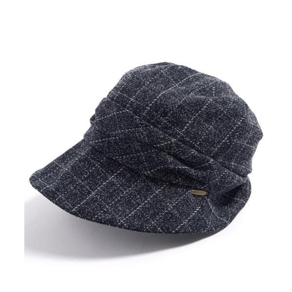 帽子 レディース 大きいサイズ キャスケット AWミラクルキャスダウンHAT  ハット 秋 冬 小顔効果 防寒対策に|queenhead|25