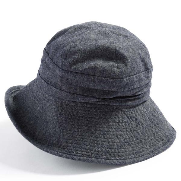 帽子 レディース 夏 夏用 大きいサイズ UV UVカット つば広 エレガントUVハット 日よけ 折りたたみ 女優帽 自転車 飛ばない 56-63cm|queenhead|21