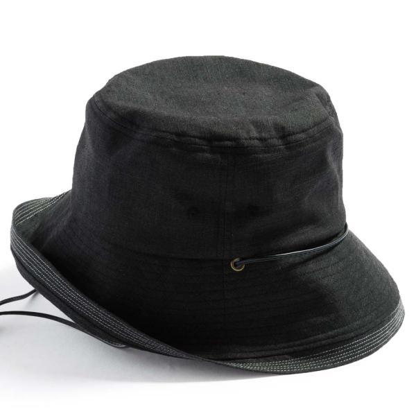 こんな帽子を探してた UV ハット 帽子 レディース 大きいサイズ 日よけ 折りたたみ つば広 自転車 飛ばない UVカット 春 夏 56-63cm 紐付きフレンチHAT queenhead 16
