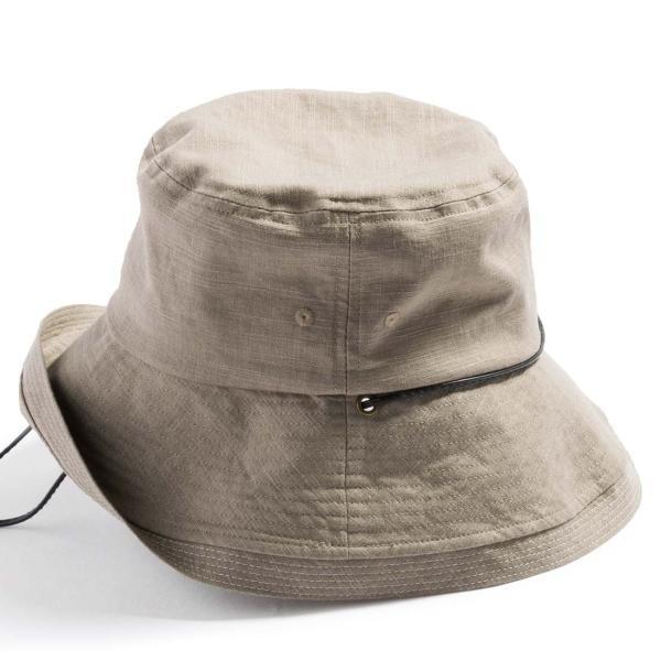 こんな帽子を探してた UV ハット 帽子 レディース 大きいサイズ 日よけ 折りたたみ つば広 自転車 飛ばない UVカット 春 夏 56-63cm 紐付きフレンチHAT queenhead 17
