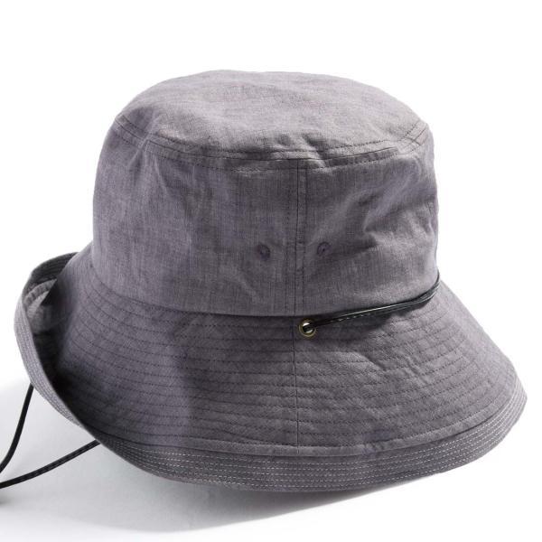 こんな帽子を探してた UV ハット 帽子 レディース 大きいサイズ 日よけ 折りたたみ つば広 自転車 飛ばない UVカット 春 夏 56-63cm 紐付きフレンチHAT queenhead 18