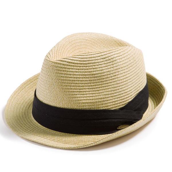 3月末より順次発送 折りたためる ストローハット 麦わら 帽子 中折れ 帽子 レディース メンズ 大きいサイズ ミックスペーパーソフトHAT|queenhead|23