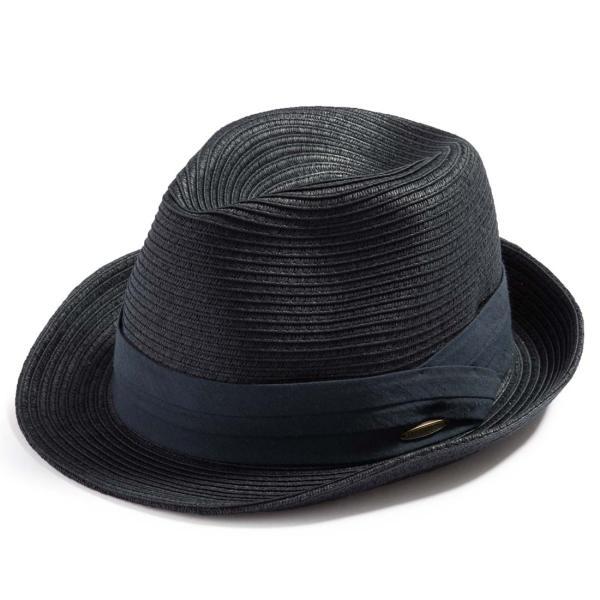 3月末より順次発送 折りたためる ストローハット 麦わら 帽子 中折れ 帽子 レディース メンズ 大きいサイズ ミックスペーパーソフトHAT|queenhead|21