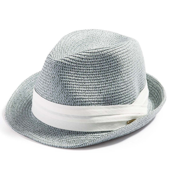 3月末より順次発送 折りたためる ストローハット 麦わら 帽子 中折れ 帽子 レディース メンズ 大きいサイズ ミックスペーパーソフトHAT|queenhead|28