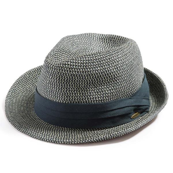 3月末より順次発送 折りたためる ストローハット 麦わら 帽子 中折れ 帽子 レディース メンズ 大きいサイズ ミックスペーパーソフトHAT|queenhead|25