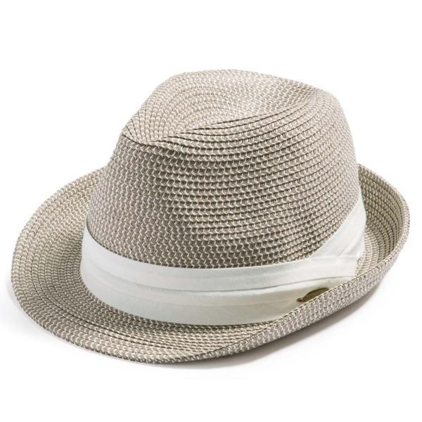 3月末より順次発送 折りたためる ストローハット 麦わら 帽子 中折れ 帽子 レディース メンズ 大きいサイズ ミックスペーパーソフトHAT|queenhead|24