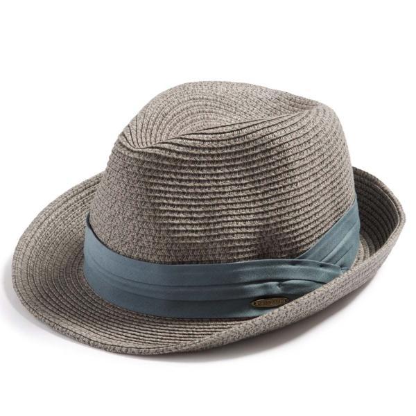 3月末より順次発送 折りたためる ストローハット 麦わら 帽子 中折れ 帽子 レディース メンズ 大きいサイズ ミックスペーパーソフトHAT|queenhead|27