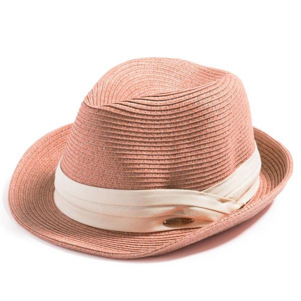 3月末より順次発送 折りたためる ストローハット 麦わら 帽子 中折れ 帽子 レディース メンズ 大きいサイズ ミックスペーパーソフトHAT|queenhead|29