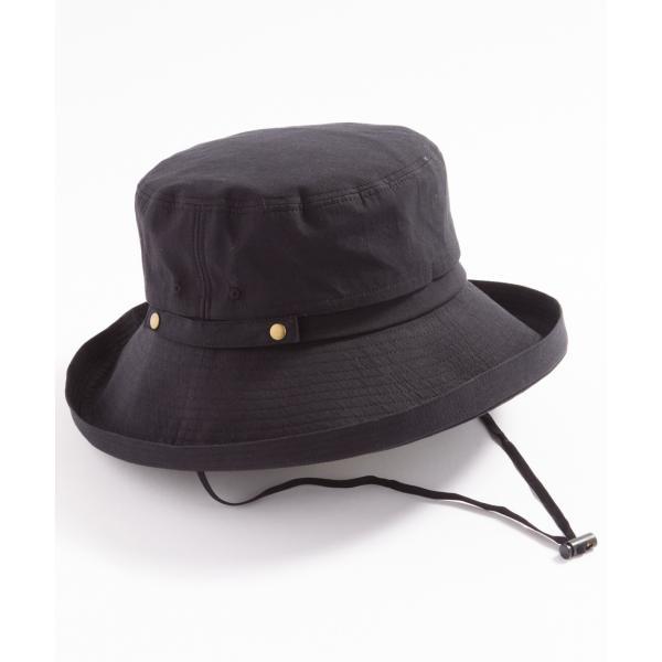 あご紐付き ハット 2019リニューアル 紫外線100%カット 帽子 レディース 大きいサイズ 紐付き UV UVカット 春 夏 折りたたみ 自転車 飛ばないセール SALE|queenhead|21