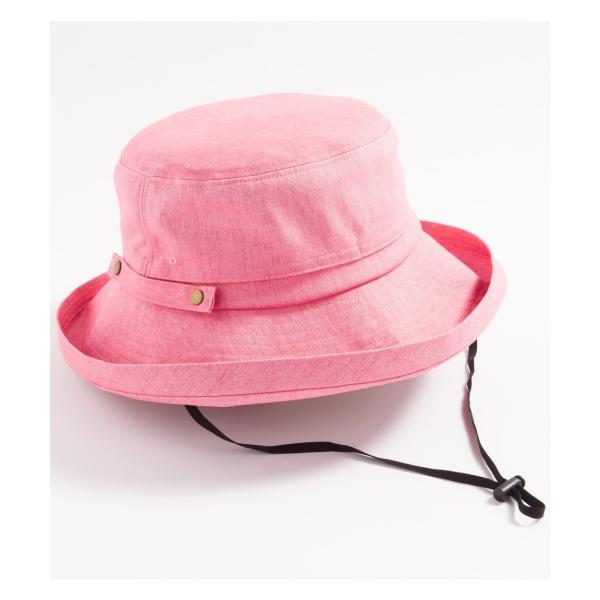 あご紐付き ハット 2019リニューアル 紫外線100%カット 帽子 レディース 大きいサイズ 紐付き UV UVカット 春 夏 折りたたみ 自転車 飛ばないセール SALE|queenhead|33