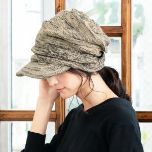帽子 レディース くしゅ感が可愛い ニット帽 キャスケ 小顔効果&防寒対策 大きいサイズ クシュットニットキャスケット SALE セール QUEENHEAD PayPayモール店