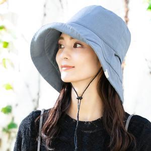 帽子 レディース UV 折りたたみ 大きいサイズ 風に飛ばない日よけ  紐付きブリムフレンチHAT 紫外線カット 母の日 春 夏|クイーンヘッド QUEENHEAD