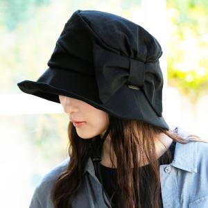 帽子 レディース UV 夏用 大きいサイズ つば広 サイドリボンQueenハット 日よけ 折りたたみ 女優帽 自転車 飛ばない 母の日 春 夏|クイーンヘッド QUEENHEAD