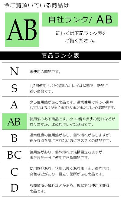 ブランド商品ランク表