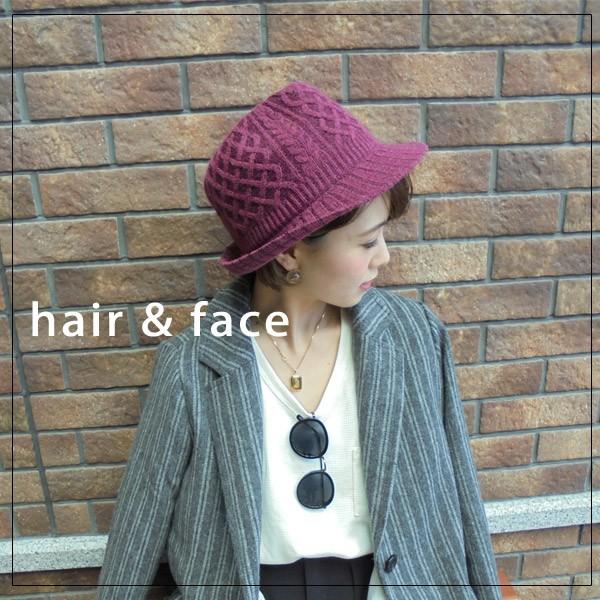 ヘアスタイル/顔の形別似合う帽子