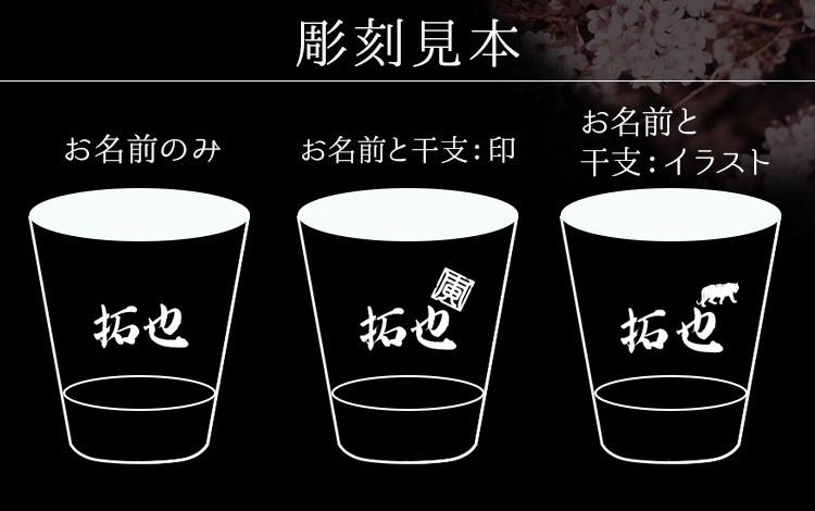 富士山グラス・世界にひとつ