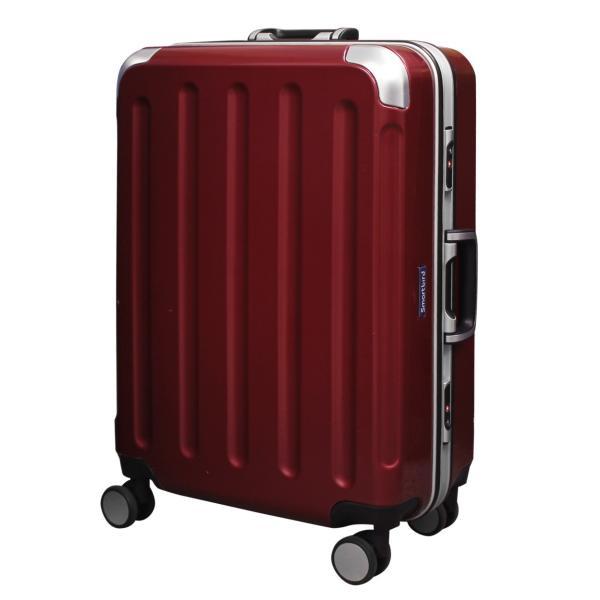 スーツケース キャリーバッグ L サイズ 大型 無料受託手荷物 3辺158cm以内  深溝フレームタイプ Wキャスター TSAロック|rabbittuhan|23
