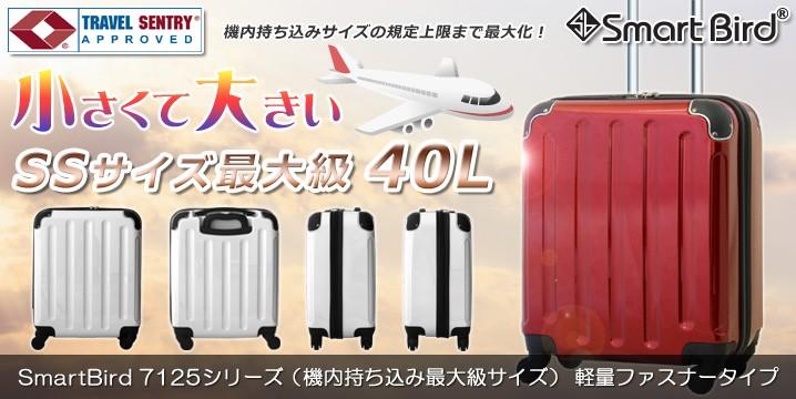 スーツケース 機内持ち込み最大級サイズ 7125