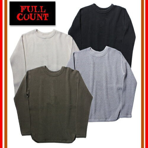 5964-18 HEAVY WEIGHT WAFFLE LONG SLEEVE T-SHIRTS
