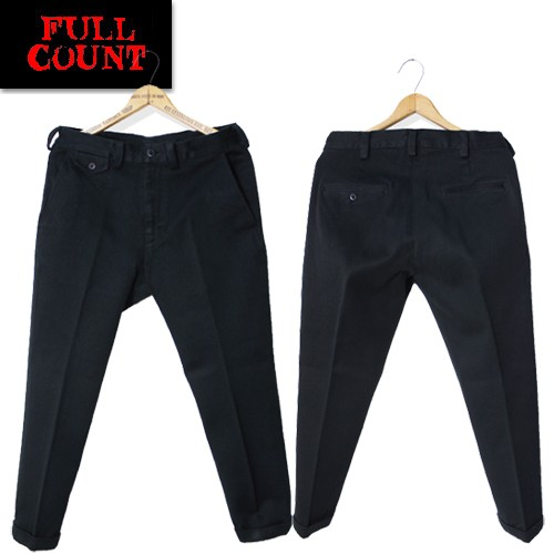 1328 Bedford Cloth Taperd Trousers