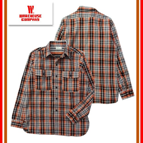 3022 FLANNEL SHIRTS WITH CHINSTRAP
