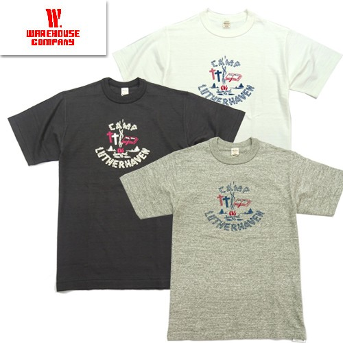 4601 「CAMP LUTHERHAVEN」 プリントTシャツ