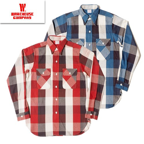 3104 FLANNEL SHIRTS B柄