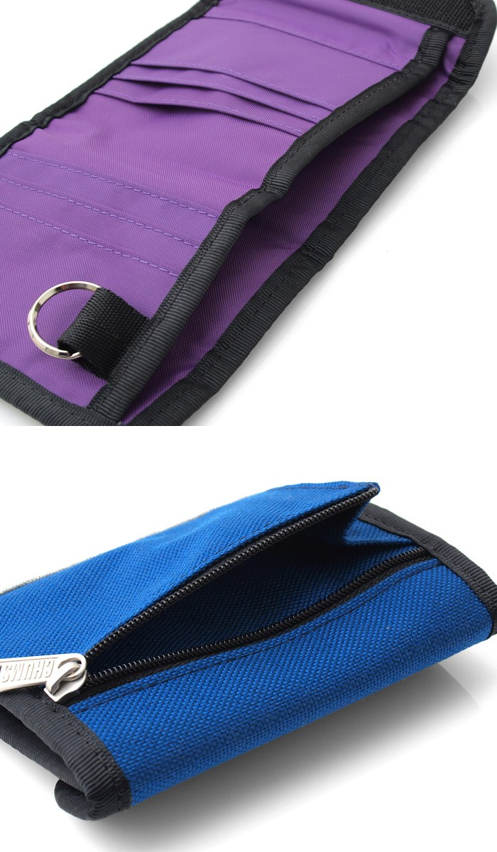 fdd0286d1836 スウェットとナイロンのコンビデザインがポイントのチャムス CHUMSらしいアイテム『チャムス CHUMS スウェットナイロン トリフォルド 三つ折り財布 』