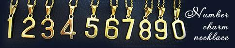 人気のナンバーネックレス 運命数字 ラッキーナンバー