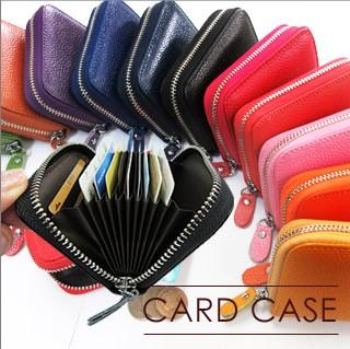 ジャバラ式のカードケース カード収納
