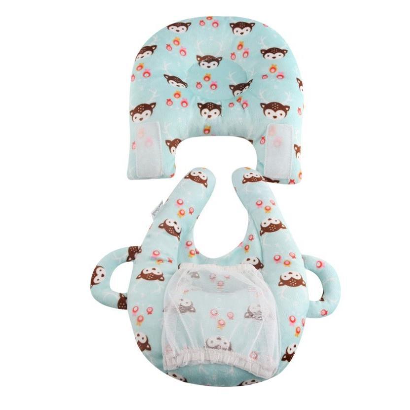 赤ちゃん 授乳 クッション ベビー 授乳クッション 枕 ピロー ハンズフリー 哺乳瓶ホルダー 赤ちゃんまくら ベビーまくら /授乳クッション|raramart|09