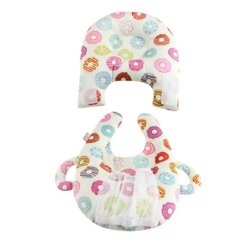 赤ちゃん 授乳 クッション ベビー 授乳クッション 枕 ピロー ハンズフリー 哺乳瓶ホルダー 赤ちゃんまくら ベビーまくら /授乳クッション|raramart|10