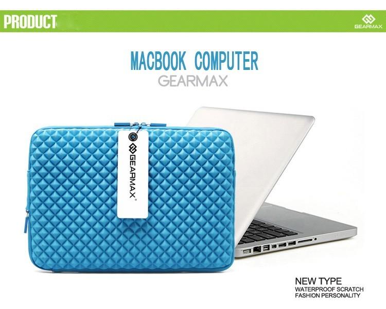 MacBookAir/Proダイヤ柄11/13/15インチ対応MacBookケースのブランドGEARMAX