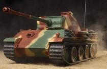 タミヤ 1/16 ドイツV号戦車 パンサーG型