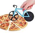自転車型ピザカッター