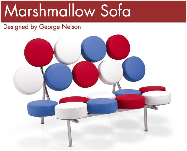 マシュマロソファ George Nelson Marshmallow Sofa ジョージ・ネルソン