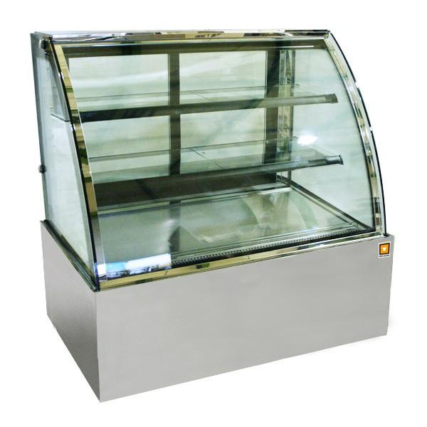 対面冷蔵ショーケース3段(中棚2段)タイプ