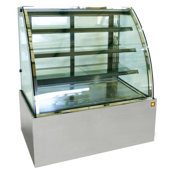 対面冷蔵ショーケース4段(中棚3段)タイプ