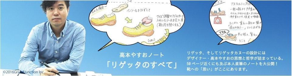 リゲッタカヌーのすべて 高本やすお氏手書き解説ノート!