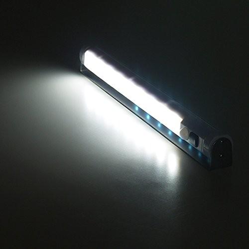 電池式センサーライト 26cmバータイプ