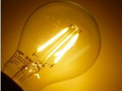 LEDフィラメント風電球