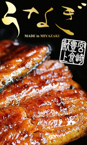 宮崎県から全国の食卓に食材と笑顔をお届け! 厳選した国産うなぎを愛情と手間をかけ、熟練の技術で焼き上げた中村商店の鰻蒲焼