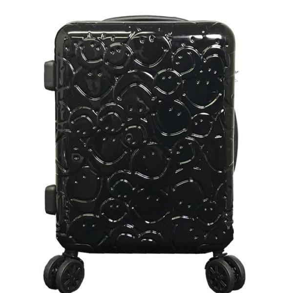 スーツケース キャラクター 機内持ち込み 8輪 ダブルキャスター TSAロック スマイル スマイリー すまいる ニコちゃん rexstar 20
