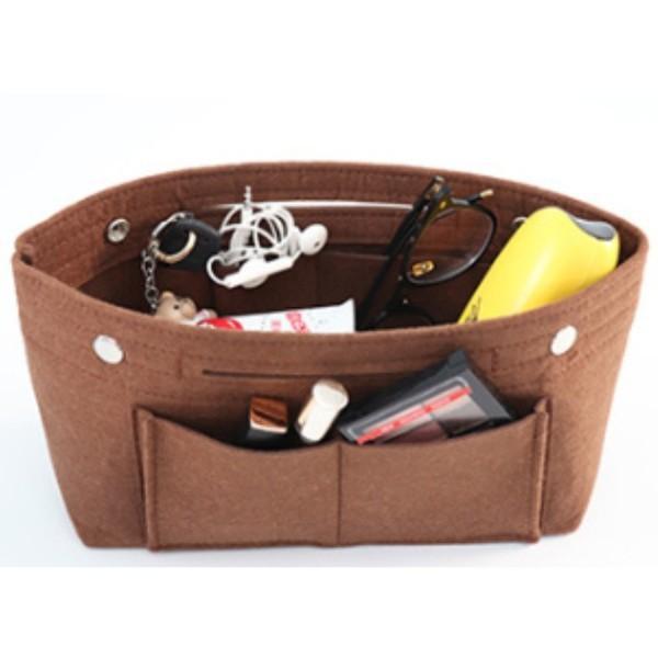 バッグインバッグ フェルト 大きい 大きめ ポケット 収納 大容量 おしゃれ インナーバッグ|ribution|17