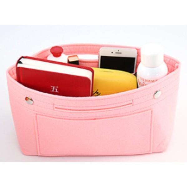 バッグインバッグ フェルト 大きい 大きめ ポケット 収納 大容量 おしゃれ インナーバッグ|ribution|14